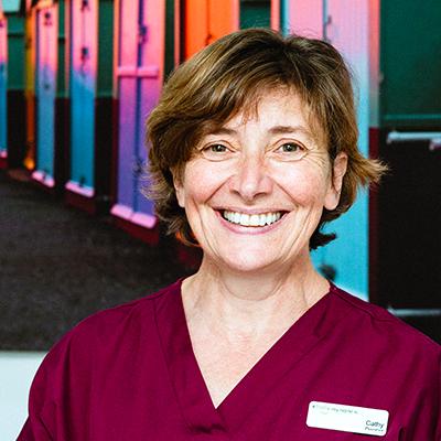Dentist Cathy Rhoden